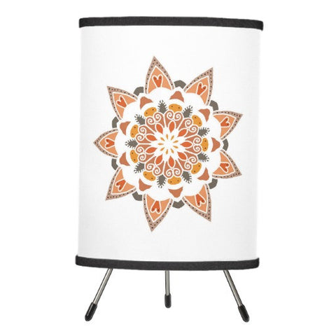 Lamp, Desert Mandala Design - Blushing Willow Design Co.