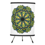 Lamp, Ocean Mandala Design - Blushing Willow Design Co.