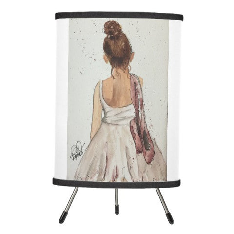 Lamp, After the Dance Watercolor Design - Blushing Willow Design Co.