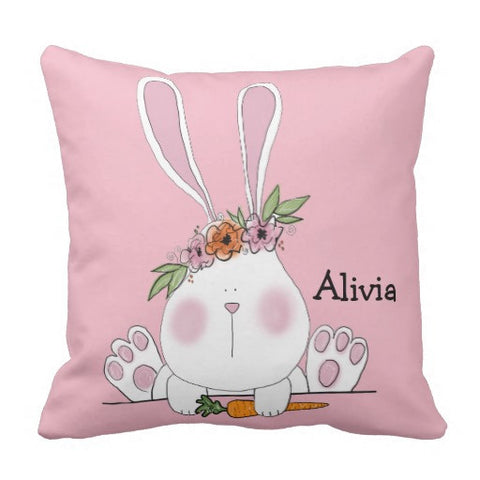 Pillow, Bunny Love Design - Blushing Willow Design Co.