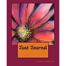 Just Journal Orange Flower Book - Blushing Willow Design Co.