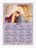 Calendar, Mommy & Me Watercolor Design - Blushing Willow Design Co.
