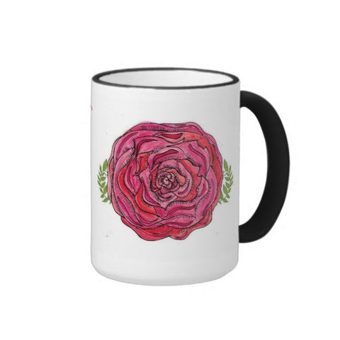 "Mug, Ceramic, ""Bloom Where You are Planted ""Design - Blushing Willow Design Co."