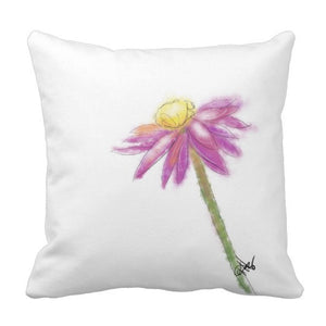 Pillow, Purple Daisy Design - Blushing Willow Design Co.