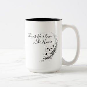 "Mug, Ceramic, ""There's No Place Like Home"" Design - Blushing Willow Design Co."