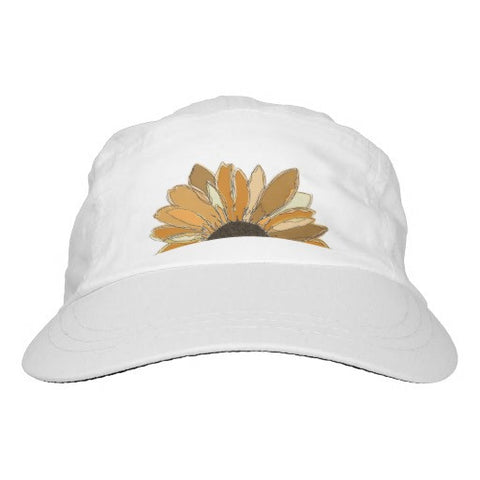Hat, Women's, Golden Sunflower Design - Blushing Willow Design Co.
