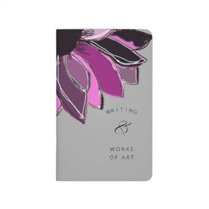 Pocket Journal, Purple Sunflower, Scribbles & Stuff - Blushing Willow Design Co.