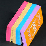 DAOSbiz 32pt Painted Edge Business Cards