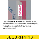 Lot Control Number