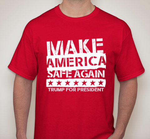 Make America SAFE Again Tshirt