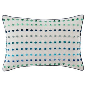 Raindrop Pillow 14x20 Blue