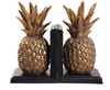 S/2 Polyresin 10H Pineapple Book Ends