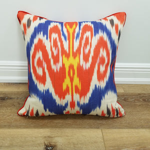 Phoenix Ikat Decorative Throw Pillow