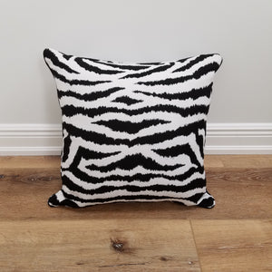 Chapman Zebra Print Decorative Throw Pillow