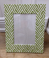Green Infinity Frame 5 x 7