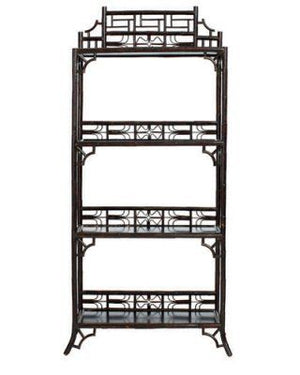 In Store Only Indochine Etagere Black Clean