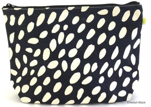 XL Pouch - Cheetah Black