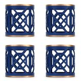 Dont Fret Napkin Ring -Navy