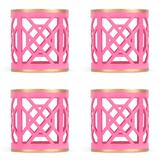 Dont Fret Napkin Ring -Pink