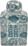 Asian Jar with Lid