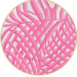 "Palm 14"" Charger Pink"