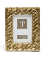 Gold Weave 4 x 6 Frame