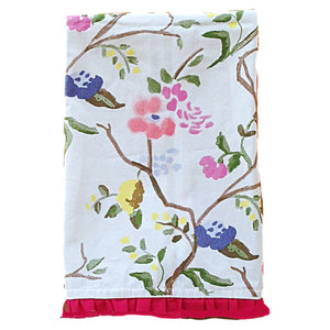 Sissinghurst Tea Towel - Coral