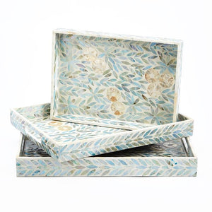 Palawan Flower Tray Set of three