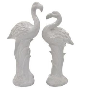 Flamingo Set of 2- White