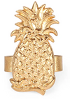 Gold Pineapple Napkin Ring