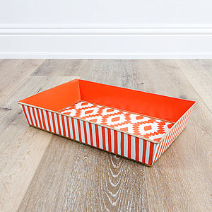 Aztec Orange Organizing Tray