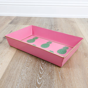 Pineapple Pink Organizing Tray