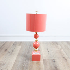 Sheridan Table Lamp - Coral