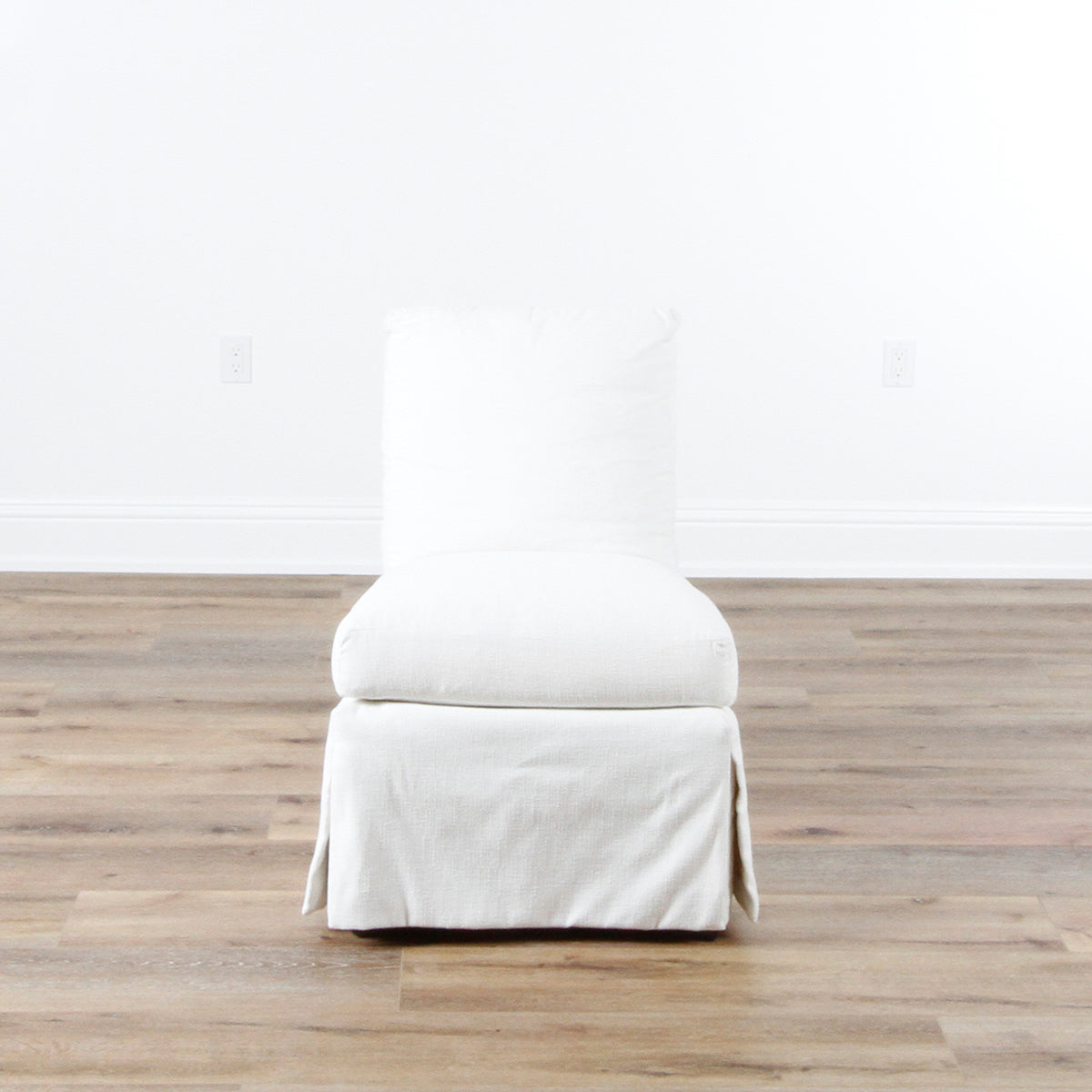 In Store Only Amelia Skirted Chair