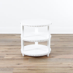 In Store Only Nora 3 Tier Side Table