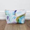 Cotton Candy Blue Cosmetic Bag
