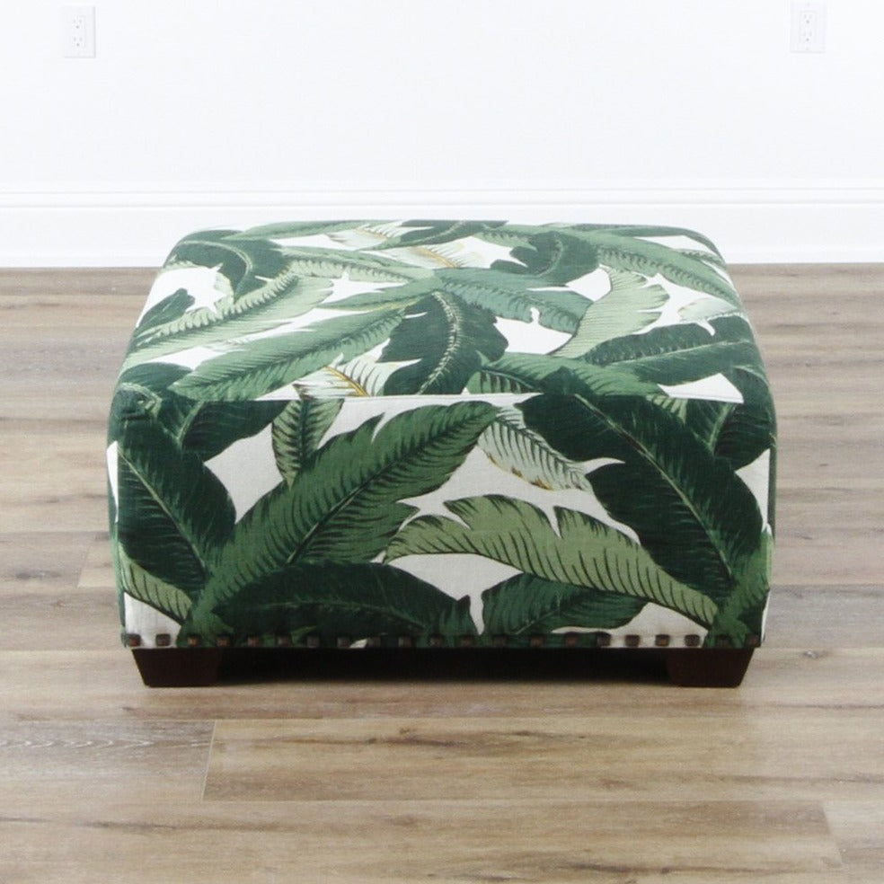 In Store Only Gable Ottoman