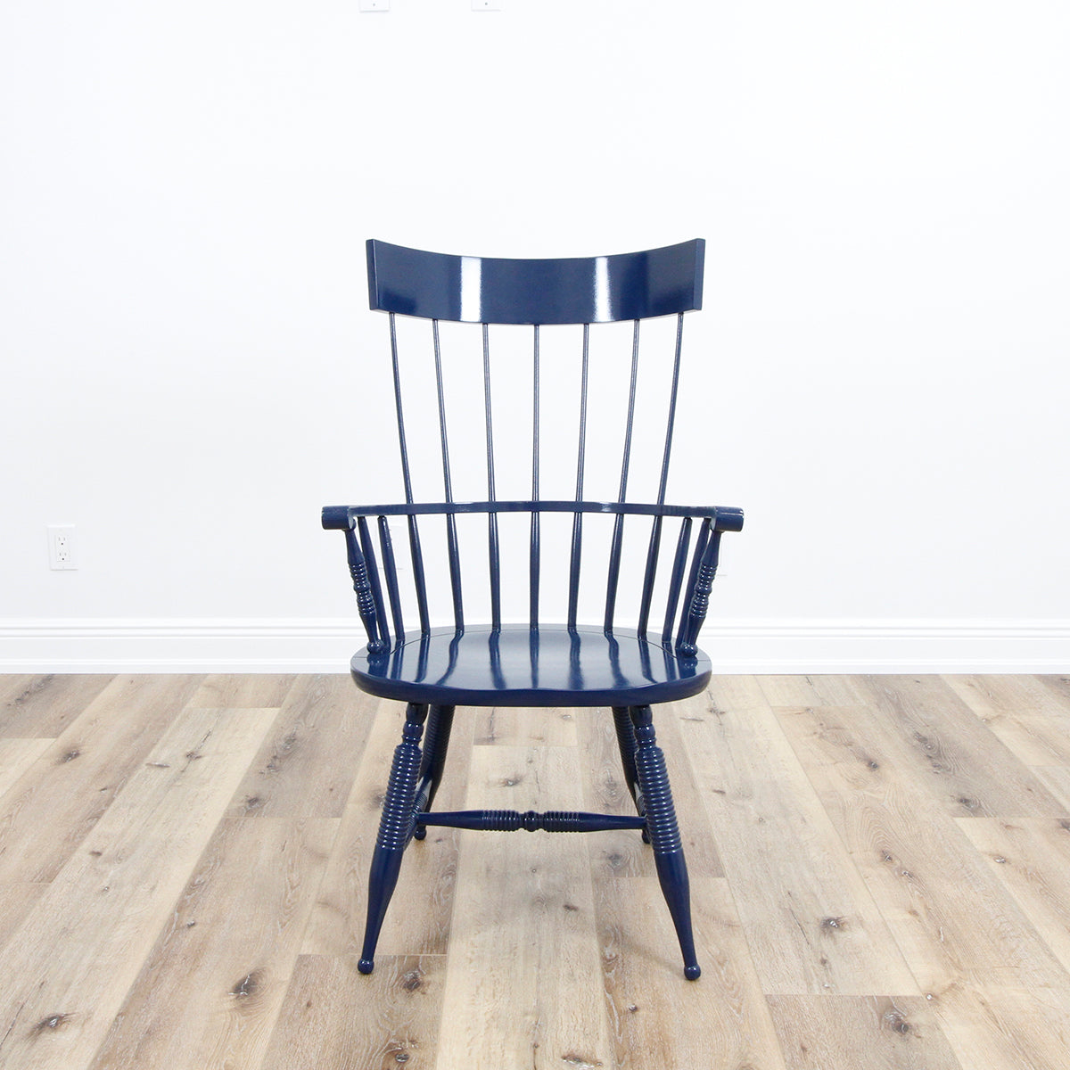 In Store Only Captain's Chair - Royal Blue