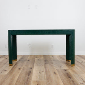 In Store Only Flannery Console - Hunter Green