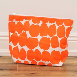 XL Pouch - Big Smudge Orange