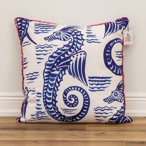 Seahorse Decorative Accent Throw Pillow