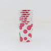 Cherry Paper Party Cup Stack