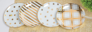 Small Plate Set - 4 pack