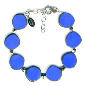 Stephanie Wolf Full Circle Bracelet - Periwinkle