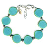 Stephanie Wolf Full Circle Bracelet - Turquoise