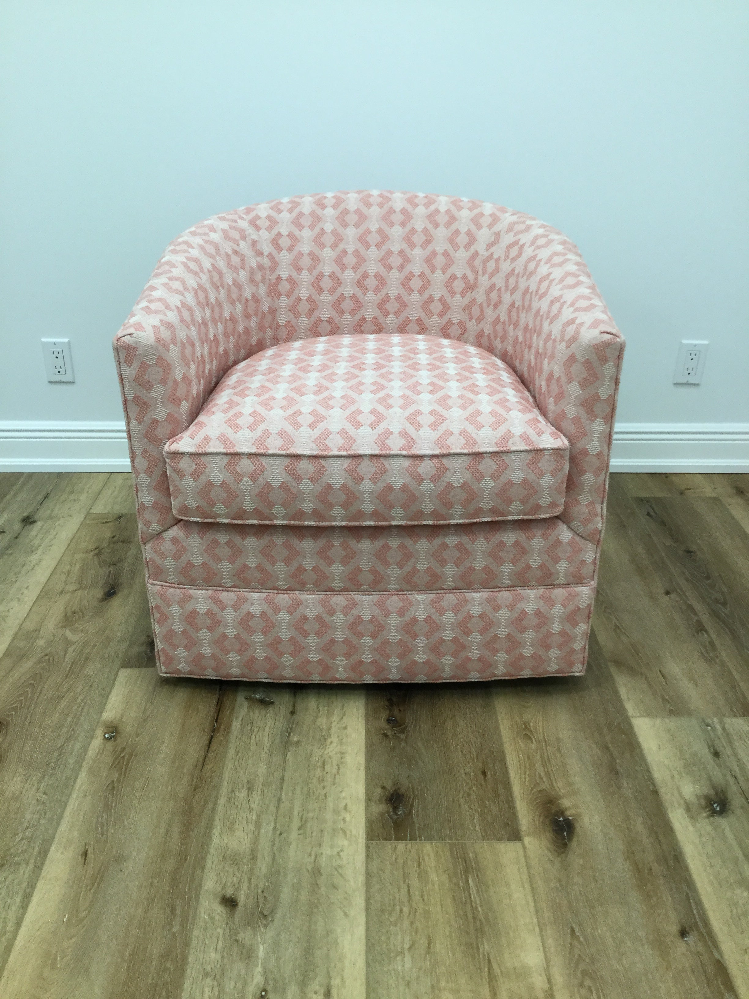 Camryn Swivel Barrel Chair In store only