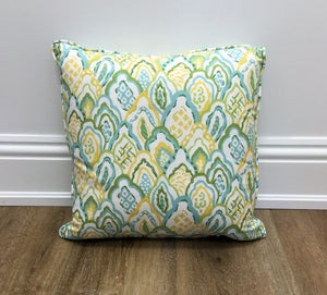 Taj Lemon Throw Pillow