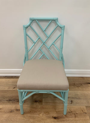 Chippendale Side Chair in Raindrop In Store Only