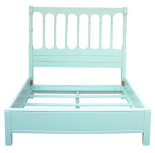 Island Spindle Queen Headboard and footboard with side rails  In Store Only