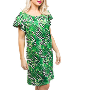 Palm Party Dress